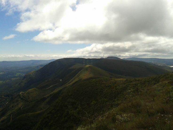 Serra da Moeda em Nova Lima, MG