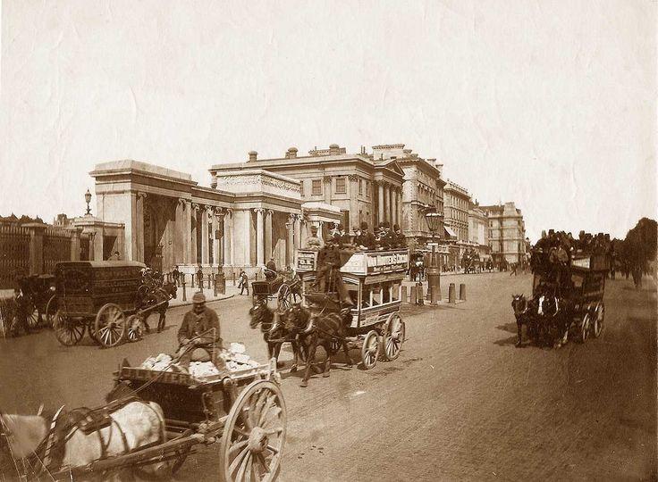 London, Hyde Park Corner circa 1890