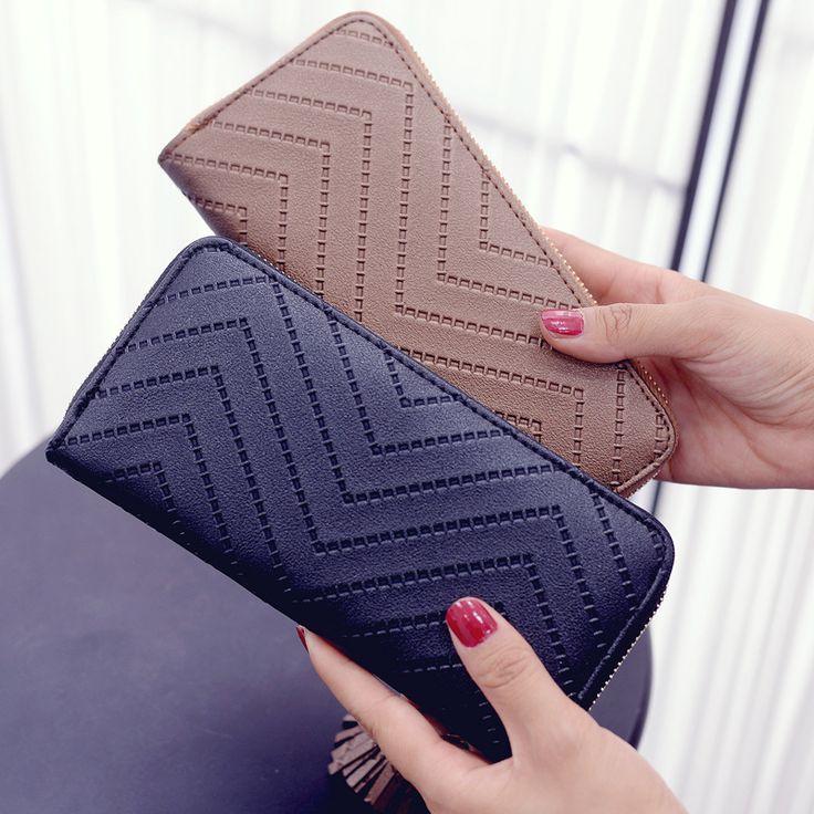 Women Long Wallet Lady Leather Wallet Clutch Checkbook Purse Tassel Purse Women Long Leather Wallet