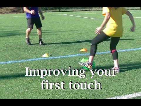13 Soccer Drills To Improve Touch , Ball Control , And Footwork - YouTube
