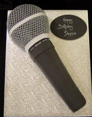 Microphone Cake                                                       …