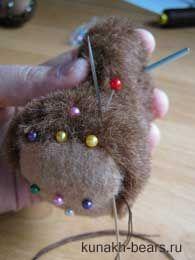 Авторские игрушки Кунах Ирины - Объёмные пальчики.