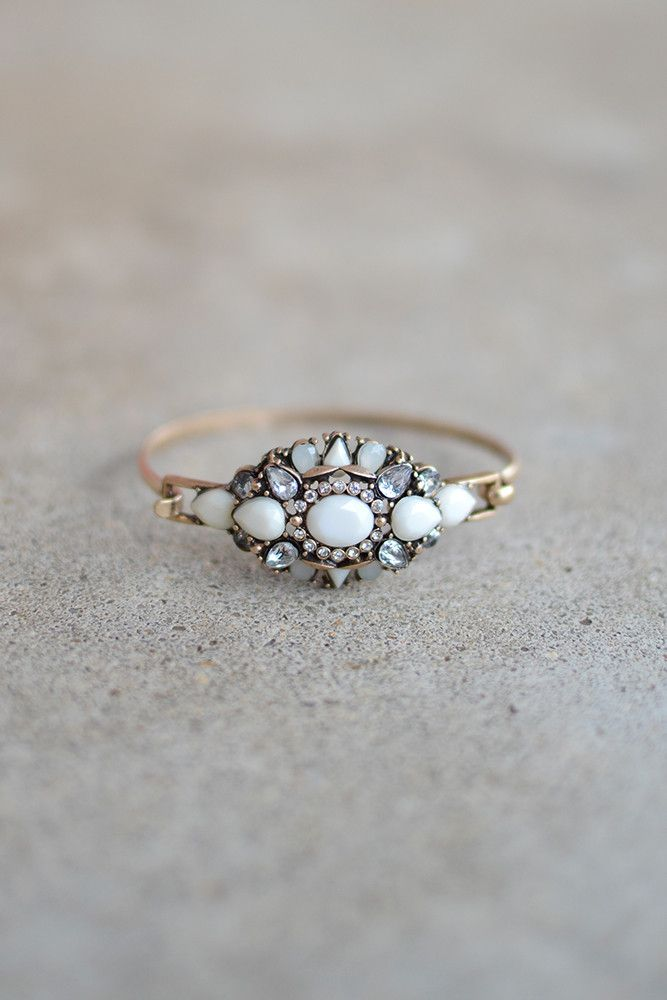 By The Seashore Bracelet - White from Page 6 Boutique