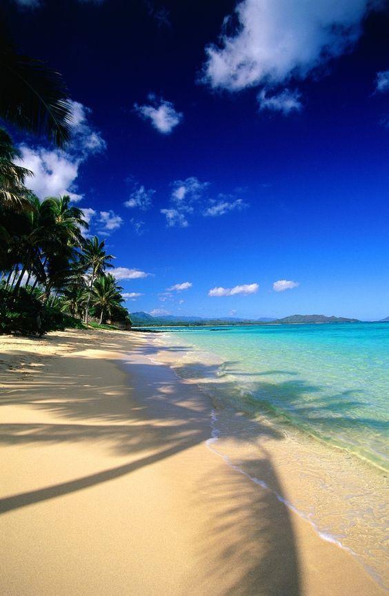 BEEN. Waimanalo Bay Beach   Oahu, Hawaii