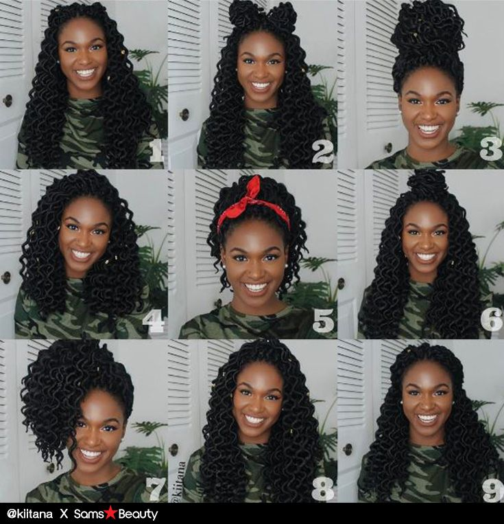 O.M.G‼️‼️ Check out @ kiitana on Instagram! Her 9 different styling with AMOUR CROCHET BRAIDS NATTY GODDESS DREADLOCKS DEEP WAVY by Chade Fashions is amazing! Which one is your fav?? Available @ samsbeauty.com  #braids #crochetbraids #goddesslocs #goddesslocks #dreadlocs #deepwavy #wavyhair #curly #blackgirlmagic #hairinspiration #updos #kinky