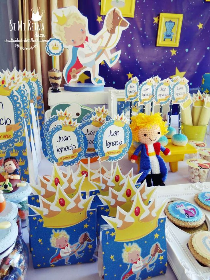 Amazing Little Prince birthday party! See more party ideas at CatchMyParty.com!