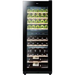 Need one of these!  Haier WS49GDB 49 Bottle Dual Zone Wine Cooler - Black