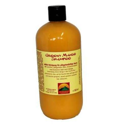 Hey mountain groovy Mango shampoo. ..wer wunderschönes Haar und fruchtig tolle Düfte mag ist hiermit bestens bedient. keine Sulfate Parabene Silikone und unnützer Kram der auf keinem Kopf gehört. Ein Lieblingsprodukt von mir. ..gar seidige weiche gut genährte lange Haare ;-)