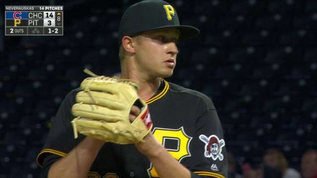 The Pirates called up Dovydas Neverauskas, the first born-and-raised Lithuanian in MLB history