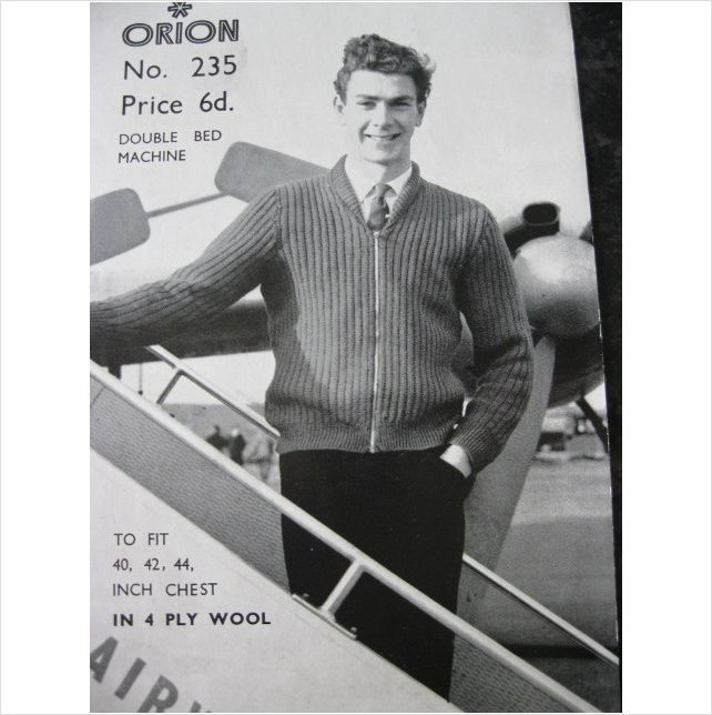 59 Best Mens Vintage Knitting Patterns Images On Pinterest Knit