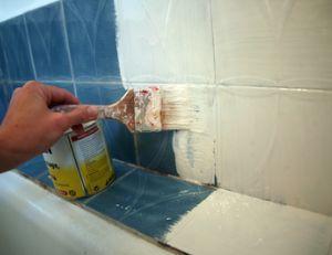 Les 25 meilleures id es de la cat gorie peindre murs du for Peinture sans sous couche carrelage