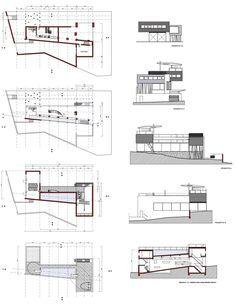 Rem Koolhaas - Villa Dall'Ava 2D dwg