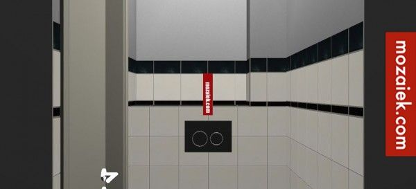 Berekening tegels toilet. Mozaiek.com Utrecht – jaren 30 tegels | in de herhaling!