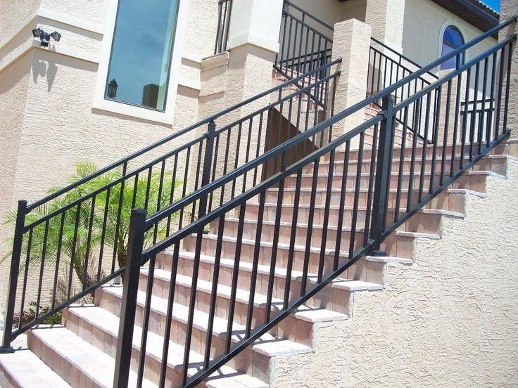 Best 25+ Metal handrails ideas on Pinterest   Metal handrails for ...