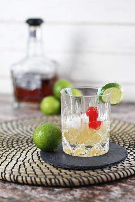 Whisky Sauer Rezept mit Jack Daniels Silver