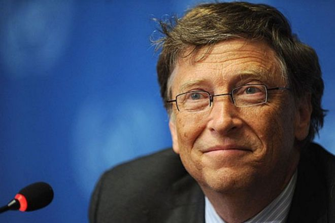 Bill Gates - The Microsoft founder said that Warren Buffett taught him about his responsibilities as one of the world's most powerful men. He told Gates; 'At some point you'll have the opportunity and responsibility to give the wealth back.'