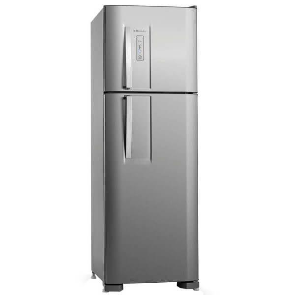Geladeira Refrigerador Electrolux 370 Litros Frost Free Dfx42 Inox
