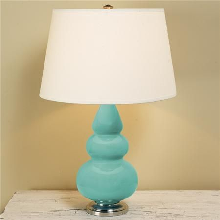 Blue c eramic lamps