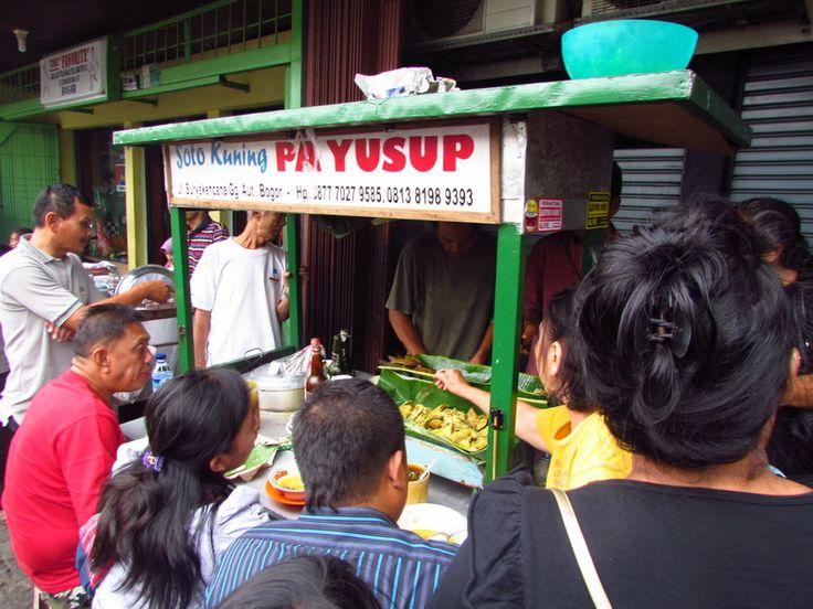 Soto Kuning Pak Yusup, Suryakencana Bogor
