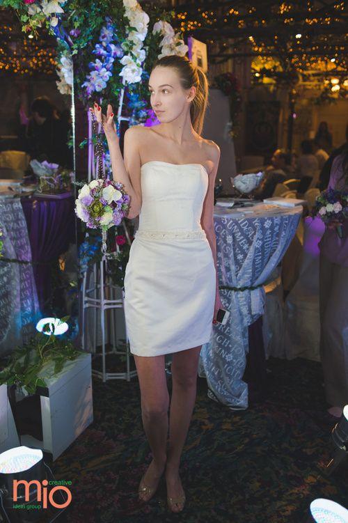 Фотография в свадебном платье CATALINA со свадебной выставки Королевство свадеб в Москве