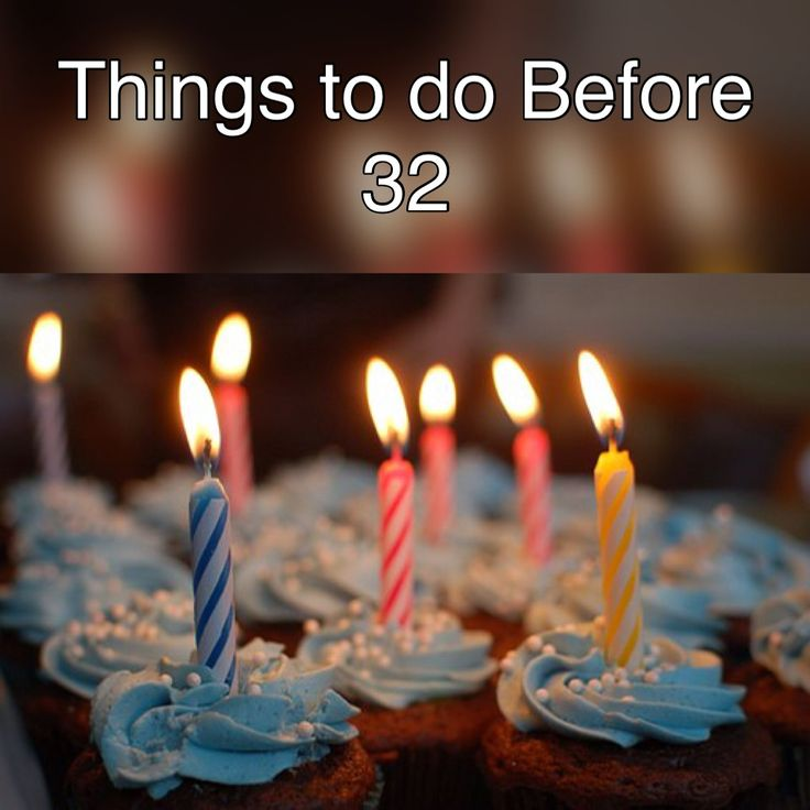 As yesterday was my 31st birthday, I have compiled a list of things to accomplish in the coming year. I hope they inspire you to achieve your goals.
