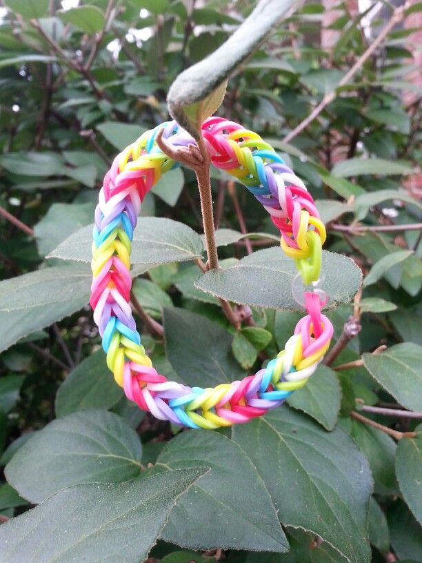 fishtail rainbow loom bracelet crafts�� pinterest