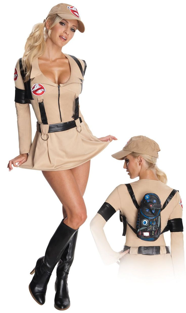 Ghostbusters Sexy Adult Costume - would be cool to take elements of this using athletic clothes