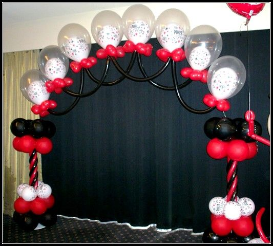 57 best images about balloons on pinterest for Balloon decoration courses in london