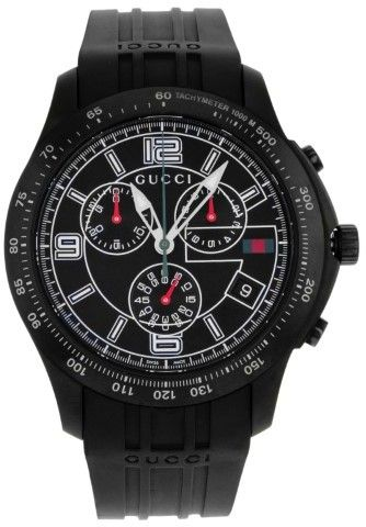 1057db84594 Gucci 126 YA126206 G-Timeless Stainless Steel Chronograph Quartz ...