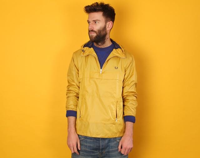 Fred Perry Mustard Yellow Windbreaker