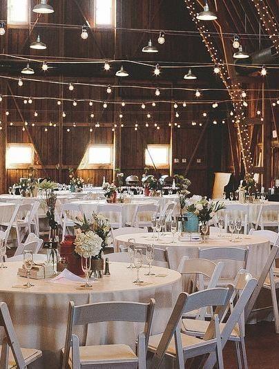 Cole & Kim's barn and bonfire wedding. <3 #offbeatbride