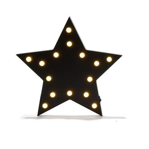 wall Led Decor Star roomates Lighting $9 Kmart. Size: 32.5cm (W) x 31cm (H).