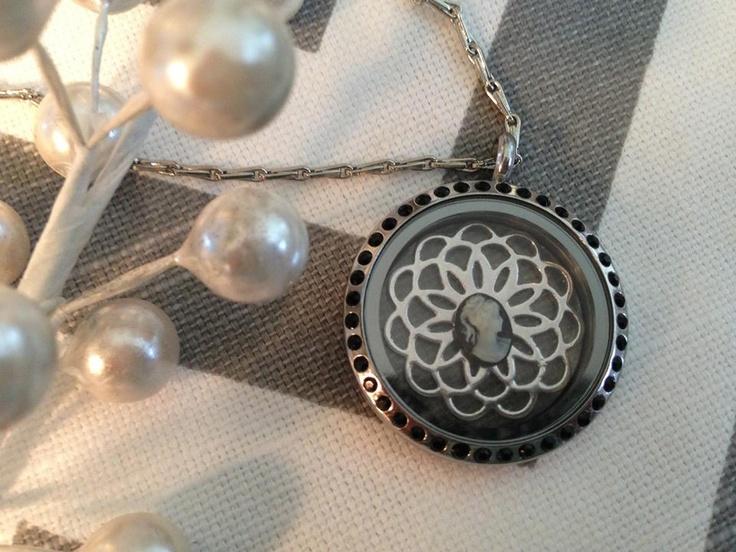 New Black Midnight #locket from South Hill Designs!!