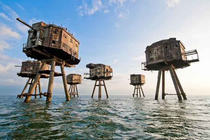 Fortes Marinhos da Segunda Guerra