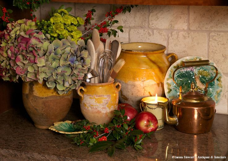 One of our most popular categories is that of culinary antiques, which by their inclusion in your decorating scheme indicates your refined appreciation for the science and history of cuisine. www.inessa.com