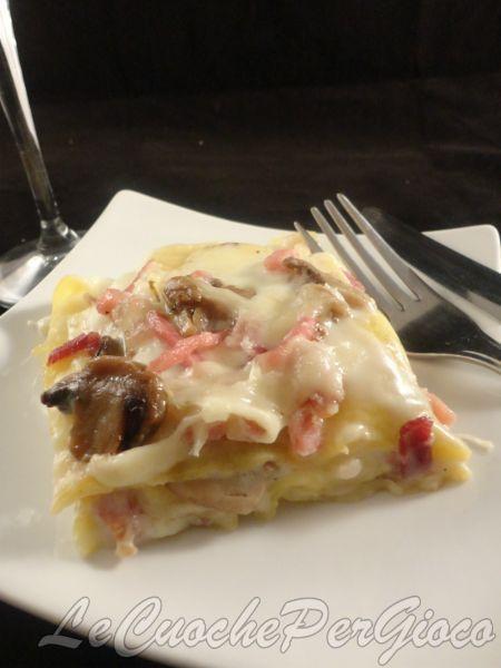lasagne speck