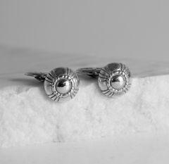 Silver cufflinks from Georg Jensen