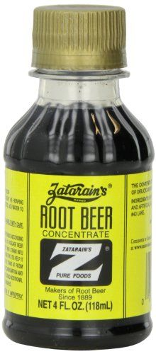 Zatarain's Root Beer Concentrate, 4 Ounce Plastic Bottles (Pack of 12) -- Want additional info? Click on the image.