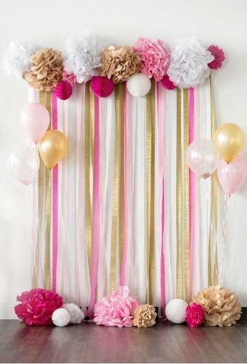 Baby Shower Decorations For Girls Diy