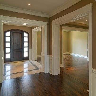 Molding Ideas Love These Dream Home Foyer