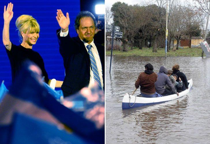 Cómo pueden las inundaciones influir en el voto