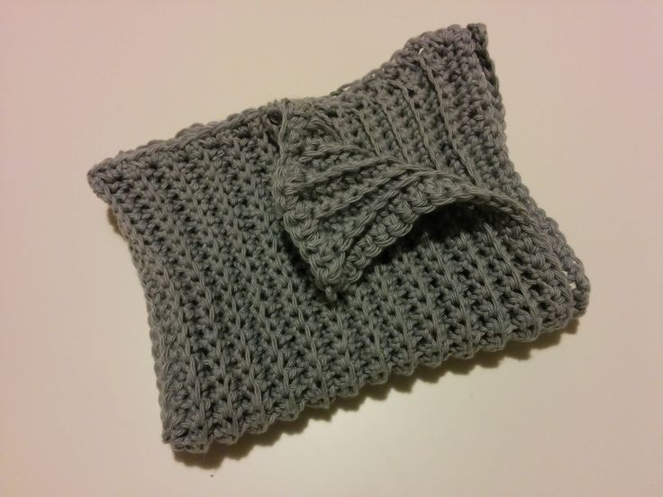 DIY crochet dishcloth / DIY hæklet karklud