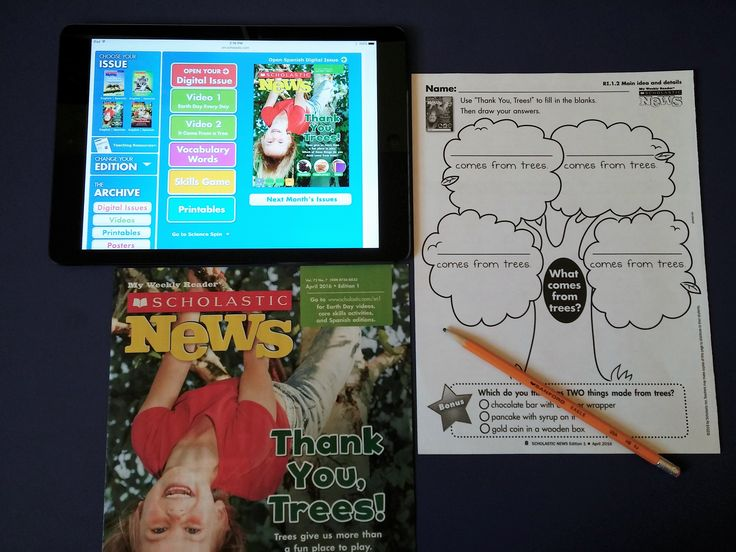 Making the Most of <em>Scholastic News</em> Magazines