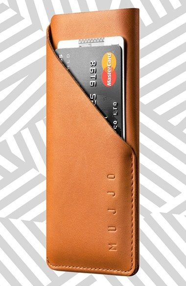 MUJJO iPhone 6 Leather Wallet Sleeve available at #Nordstrom