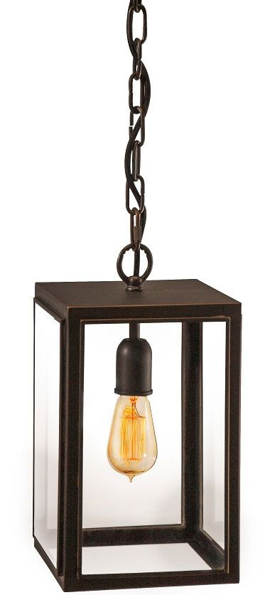 Old English Style Lantern Pendant, perfect for industrial living.