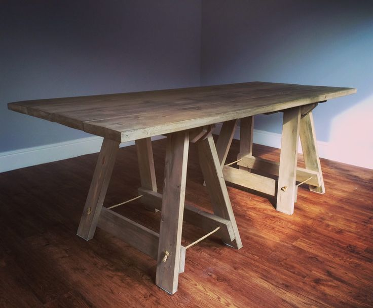 The Penderyn Furniture Co. | Rustic Wooden Trestle Table