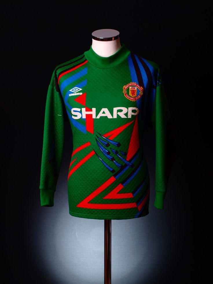 Manchester United 1992 goalkeepers shirt