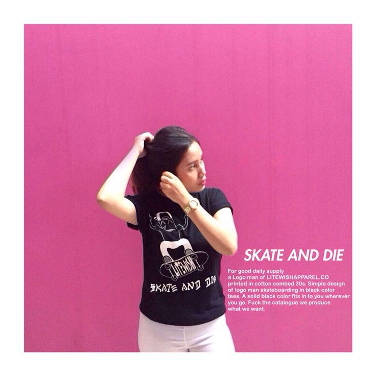 Wanna skate? And die?  Check our instagram @litewishapparel.co . We deserve For good daily supply.    #skate #skateboard #sk8 #hypebeast #hype #skater #girl #chill #fame #skateboarding