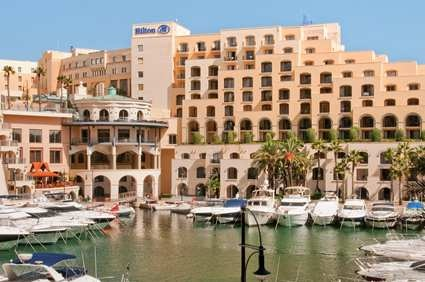 Hilton St. Julians, Malta is where you'll dwell in the lap of luxury during your Malta adventure with us.