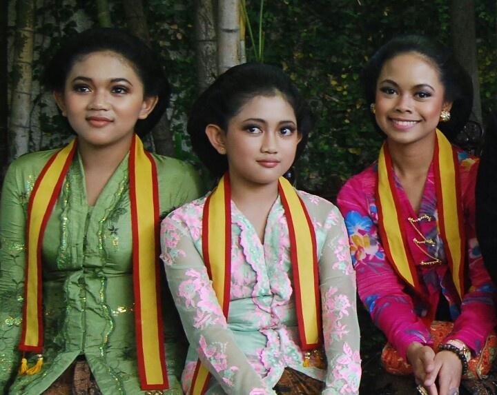 Colorful kebaya
